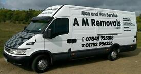 *Best Rates & Service On 1 or 2 Man Jobs *. A M Removals & Logistics. Man & Van Service.