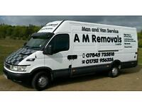 *15% off all 2 man jobs* A M Removals & Logistics. Man & Van Service.