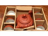 Brandnew Clay Tea Set - Dragon design