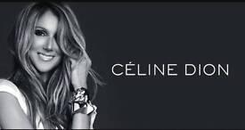 x2 Celine Dion Tickets O2