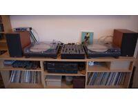 DJ Deck Stand - MDF Unit