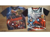 Boys Avengers Tops 6-7yrs