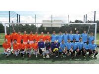 11 aside football in South London: Players wanted for football team. SUNDAY FOOTBALL TEAM. Ref: n4r