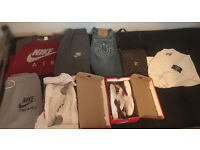 nike air , true religion , stone island , nike track & field , huaraches , louis vuitton (Bundle)