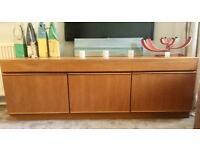 Mid Century retro low Mcintosh sideboard teak storage tv stand