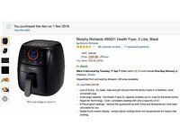 Morphy Richards 480001 Health Air Fryer