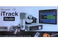 Focusrite iTrack Studio Lightning - NEW - UNUSED, Record , vocals, piano etc.