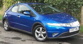 Honda Civic 1.8 SE I-VTEC S-A 5 DOOR HATCHBACK CHEAP AUTOMATIC MOT MARCH 2019