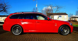 2008 Red E91 BMW 318i SE Touring 2.0 Petrol SALE or SWAP