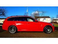 2008 Red E91 BMW 318i SE Touring 2.0 Petrol SALE or SWAP