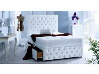 FREE DELIVERY DESIGNER DIVAN BEDS BRAND NEW AT THEIR CHEAPEST PRICE