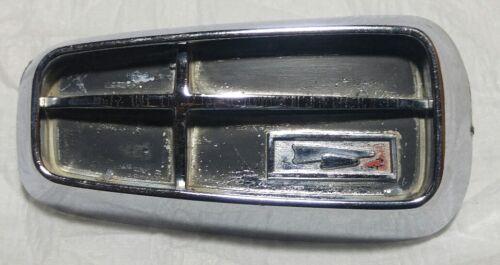 1962 DODGE DART 330 OEM FRONT FENDER EMBLEM