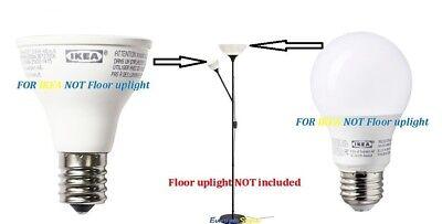 Ikea Ledare Led E17 Reflector R14 3.6w Led E26 Dimmableglobe Opal 6.3w Bulbs