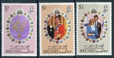 s638343 Brunei - Sc#268-70 MNH