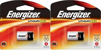 2 (2x1) Energizer CR2 EL1CR2BP 3V Lithium Photo Batteries El1cr2bp Lithium Photo Battery