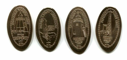 HAWAII ELONGATED CENTS: LIGHTHOUSES OF HAWAII, SERIES V
