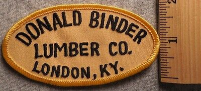 Construction Binder - DONALD BINDER LUMBER COMPANY LONDON KENTUCKY PATCH (HARDWARE, CONSTRUCTION)