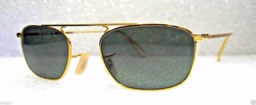 Ray-Ban USA NOS Vintage B&L Mod Aviator W2001 Pinpoint Etched New Sunglasses