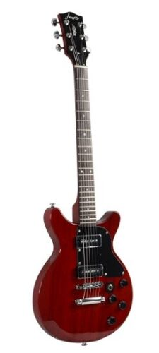 NEW FFDCD Style Red Color Solid Body Electric Guitar