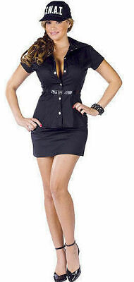 NEW Fun World 122174 S.W.A.T. Police Adult Sexy Cop Costume Cosplay Size S/M USA