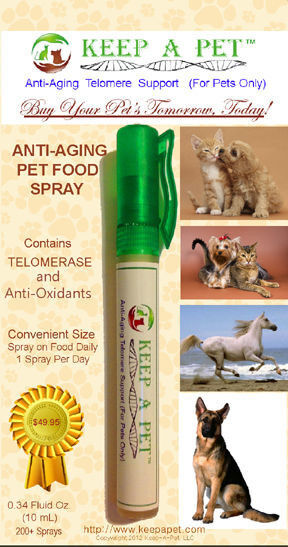 Keep-A-Pet Antiaging Telomere Support for Pets