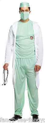 5 Stück Herren Arzt Rettungsdienste Artzt Scrubs Kostüm Kleid Outfit