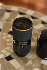 Pentax lens smc DA* 50-135mm F2.8ED (IF) SDM Excellent condition plus box, pouch, hood and lens-cap