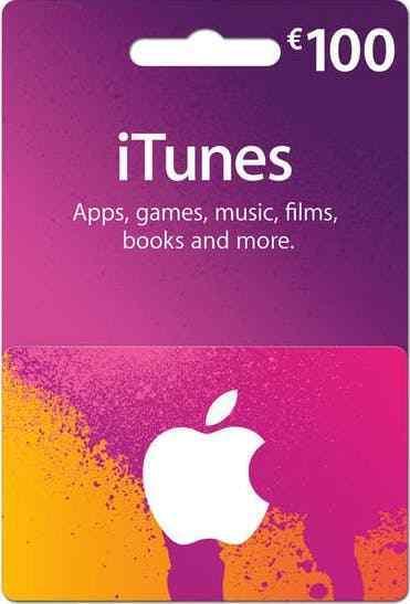Apple iTunes Guthaben Code 100€ // für deutsches iTunes-Konto // Versand kostenl