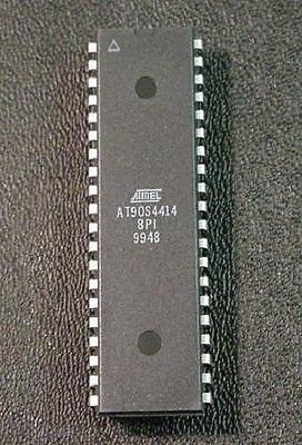 At90s4414-8pi Qty 5 40-pin Dip Ucontroller Avr Atmel