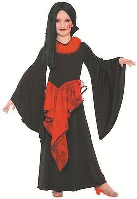 Vampir Halloween Kostüm für Mädchen Vampirkleid (110/116) 85011