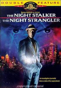 NEW OOP THE NIGHT STALKER NIGHT STRANGLER DOUBLE FEATURE MOVIE DVD 1972