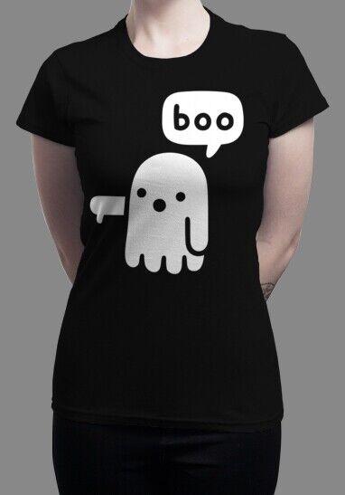 T-Shirt | Ghost Of Disapproval | Gildan | in XL | Schwarz | Qwertee | NEU
