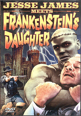 Jesse James Meets Frankenstein's Daughter (DVD) **New**