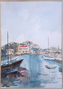 William Lee watercolour scene likely Swan River MAKE AN OFFER Bayswater Bayswater Area Preview