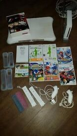 Nintendo Wii with Balance Board, Games & Accessories
