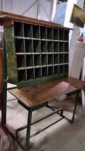 Wine Rack - Clerks Postal Bench from 1940's Geelong Geelong City Preview