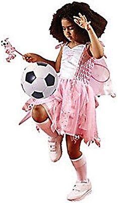 Girls Fancy Dress Arsenal Football Kit Fairy Pink Christmas Costume 3-4yrs - Football Costume For Girls