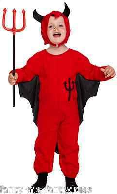 er Teufel Halloween Kostüm Kleid Outfit Alter 3 Jahre (Kleinkind Jungen Teufel Kostüm)