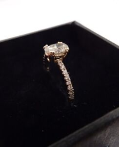 14 kt Yellow Gold Engagement Ring Size 6.5