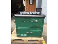 AGA Rayburn Nouvelle Gas Fired Cooker/Central Heating Boile+Original Chemney - LOCAL FREE DELIVERY