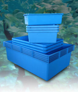 Classica blue plastic polyethylene aquarium pond fish tank for Fish pond tanks for sale