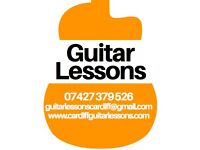 Guitar Lessons — Professional tuition in and around Cardiff at a time and place that suits you