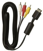 PS3 cable alimentation cable 3 couleur rca cable charger manette