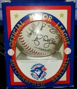 Blue Jays 1992/1993 Autographed Baseball
