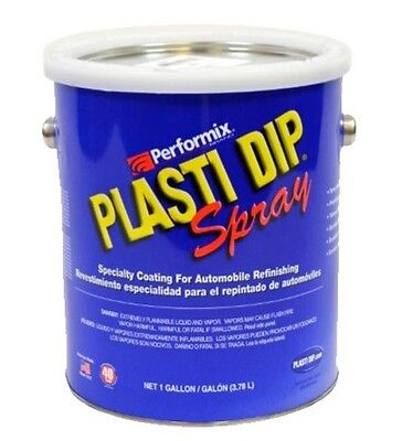 Performix Plasti Dip 1 Gallon Matte Clear Ready To Spray Rubber Dip Coating