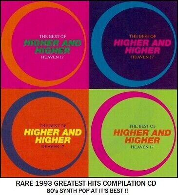 Heaven 17 - The Very Best Greatest Hits Collection RARE 1993 CD - 80's Synth