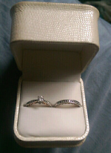 Lovely Wedding Set at a Steal!
