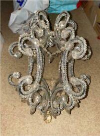 BHS Venetian beaded chandelier light shade