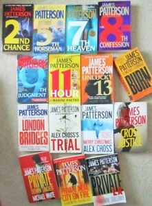 James PATTERSON == ALEX CROSS, Women's MURDER Club & MORE