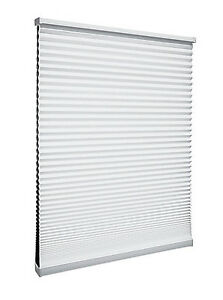 """BNIB - White Cellular Blind from Home Depot - 72""""w x 53""""h"""